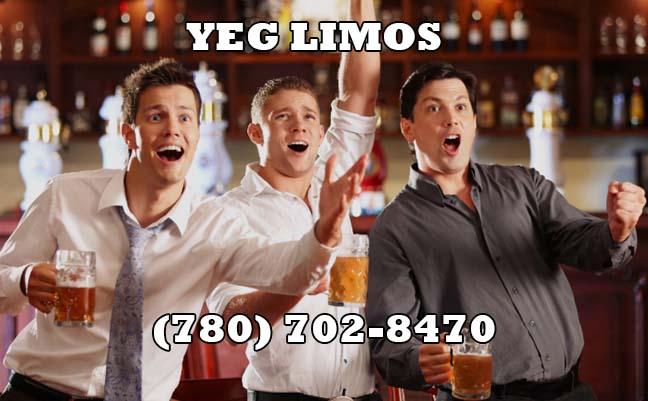 Edmonton Bachelor Limo Rental