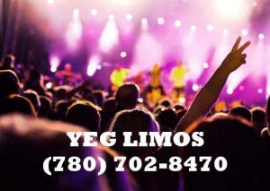 concert Limo Edmonton