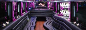Edmonton Party Bus Limo Inside